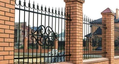 Забор секционный с ковкой 3