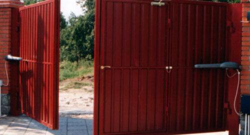 Ворота распашные 3