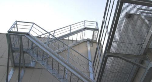 Лестница пожарная 3