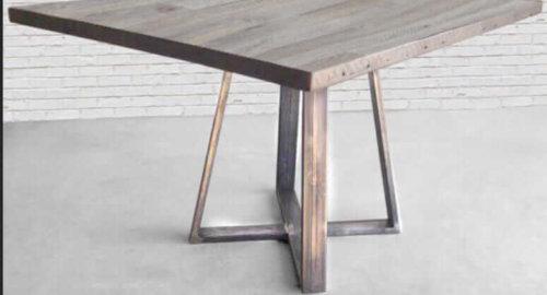 Деревянные столы лофт