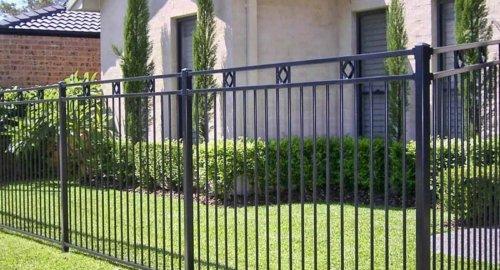 Забор секционный 3